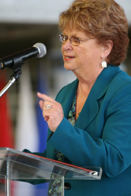 Diane DuBois, presidenta de la Junta Directiva de Metro. Foto: Paul Gonzales/Metro.