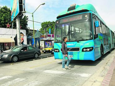 El número de pasajeros en  la Línea 1 del Macrobús ha disminuido paulatinamente en los últimos años. Foto: www.informador.com.mx