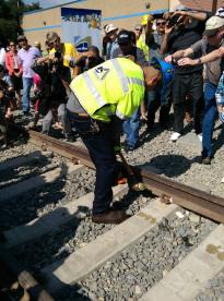 El trabajo en las vías termina oficialmente.