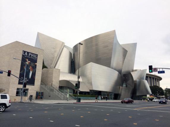 Disney Concert Hall.