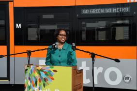 Stephanie Wiggins, subdirectora general ejecutiva interina de Metro.