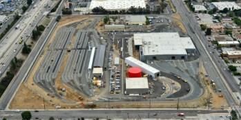 Vista aérea del campus.