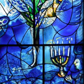 """Menorah"" de Marc Chagall."