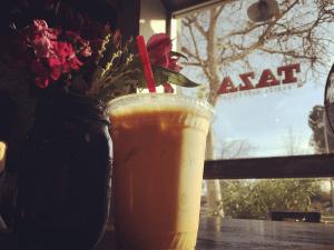 El delicioso café de TAZA.