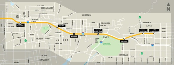 map foothill