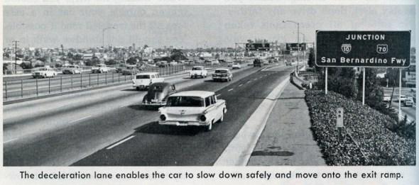 La autopista 5 en 1967, cuando era un paraíso conducir por ahí. Foto: Eric Fischer vía Flickr.