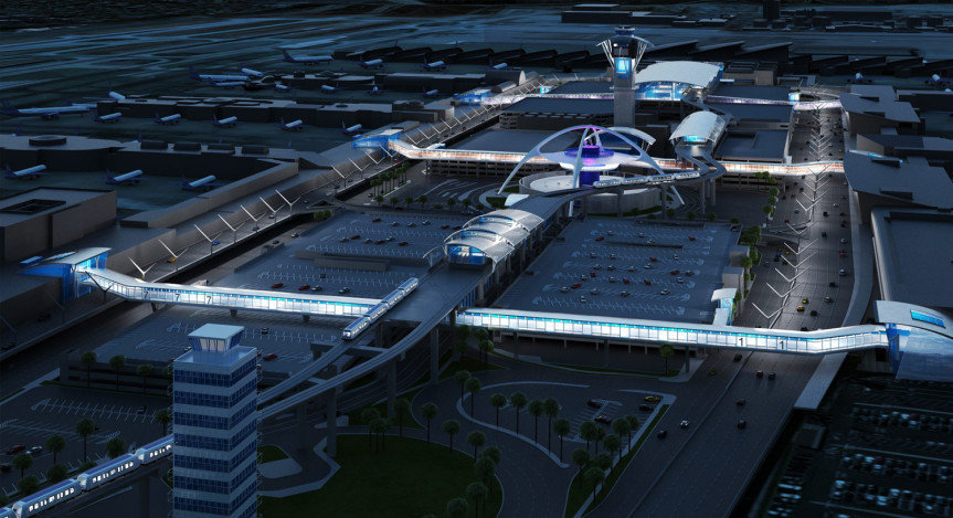 ilustración Conector Aeropuerto