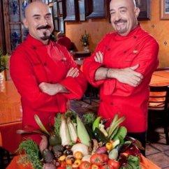 Los chefs Jaime Martín del Campo y Ramiro Arvizu.
