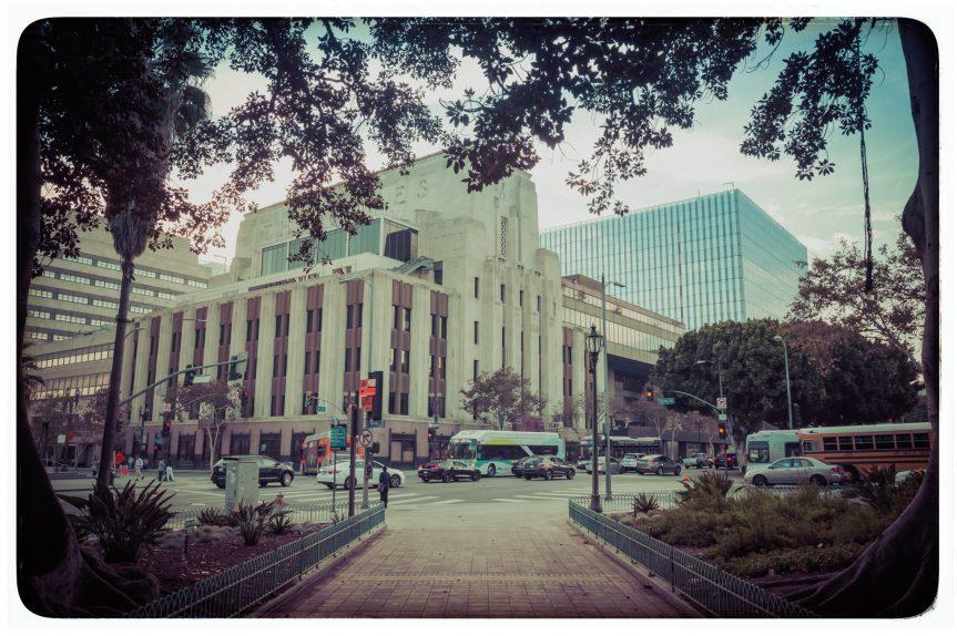 Edificio del LATimes. Foto: Steve Hymon/Metro.