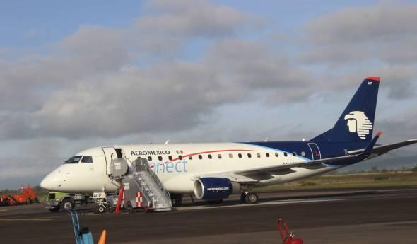 Avión de Aeroméxico. Foto: El País.