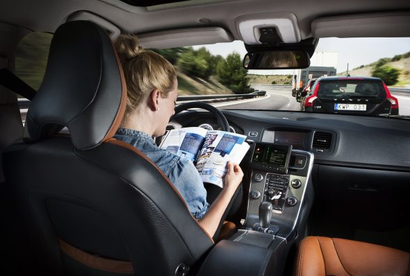 Volvo-self-driving-car