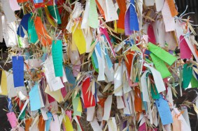Write down your wish and tie it to a tree in Little Tokyo for Tanabata! Photo: Sam Howzit via Flickr Creative Commons