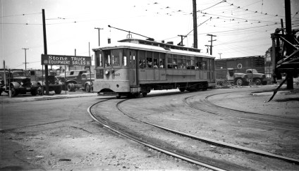 B Line on Hooper. Photo by Alan Weeks.