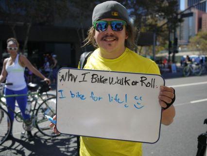 I bike for life