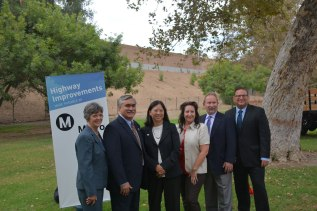 Four miles of new sound walls are dedicated along the 134 and the 405 in the San Fernando Valley, part of Metro's ongoing highway program.