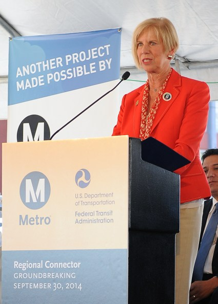 Rep. Janice Hahn (D-San Pedro), who also serves on the House Transportation Committee.