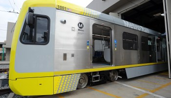The Metro Blue Line Says Hello Goodbye To New Old Rail Cars The