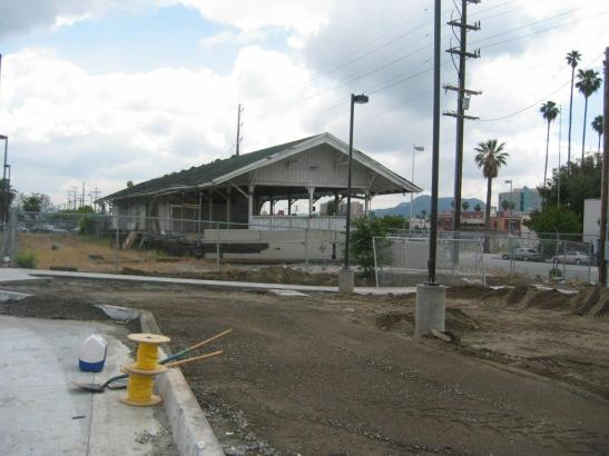 The following photos show what the depot looked like prior to its renovation. Photos by Metro.