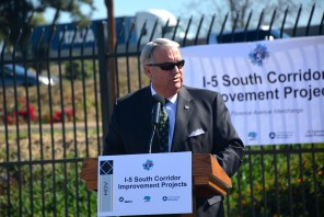 L.A. County Supervisor and Metro Board Member Don Knabe.