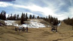 Badger Pass in Yosemite. Perhaps not a good ski day.