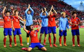 Ladies from the Korea Republic rejoice. (All photos via the FIFA WWC Facebook page)