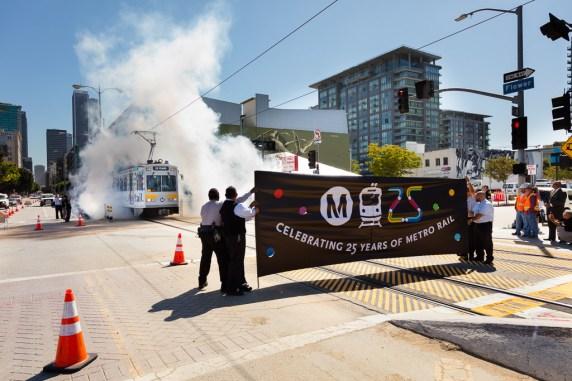 Metro Rail 25th Anniversary. Photo: Mark Clifford.