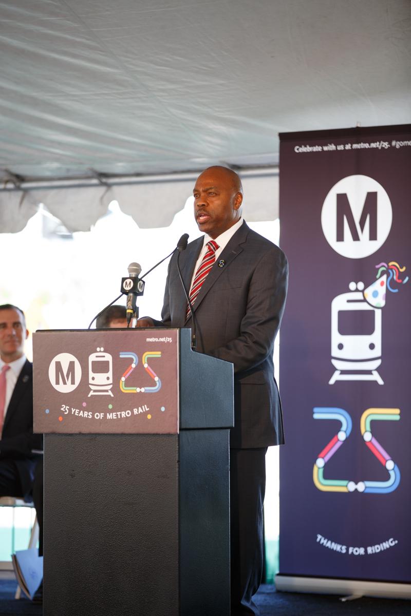 Metro CEO Phil Washington. Photo: Peter Watkinson/Metro