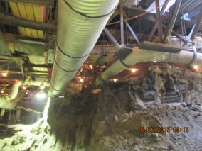 MLK STATION –Excavating under DWP fire line