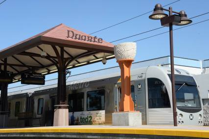The new Gold Line Foothill Extension stations were dedicated in August and September 2015.