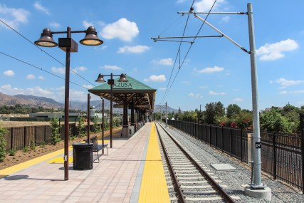 The Citrus College/APU Station in Azusa is a short walk to the schools and the new Rosedale Development.