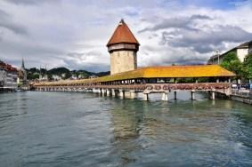 Chapel Bridge, Switzerland. Source: Wikimedia.