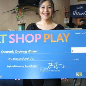 Grand Prize winner from Regional Connector area: Jasmine Hanamure of Chino Hills, CA/ Mitsuru Grill