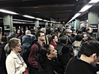 The New York subway. Photo by Eric Gross via Flickr creative commons.