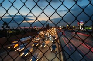 The 210 freeway. Photo by Steve Hymon/Metro.