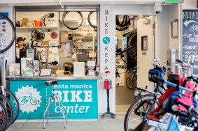 Santa Monica Bike Center. Photo: Candace Wakefield/Metro