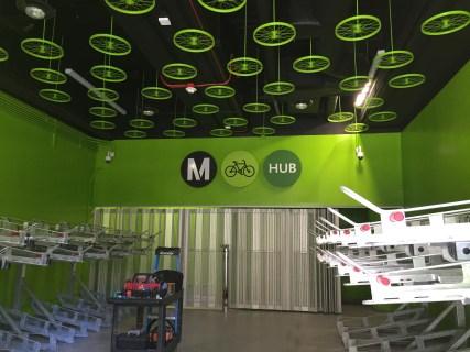 hv bike hub inside