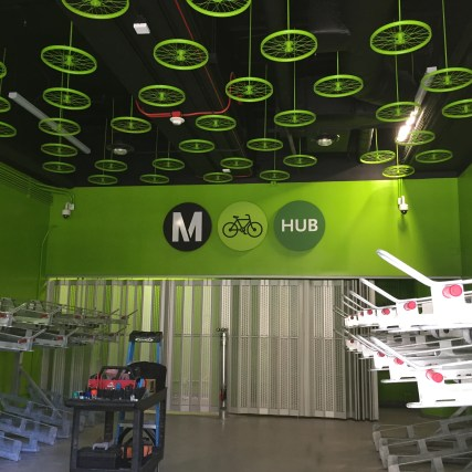 hv bike hub inside