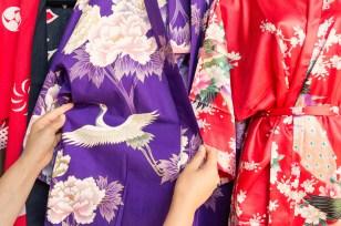 Kimono at Shinyodo Gift.