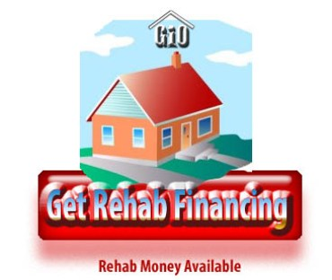 rehab money avialible through investment property lenders