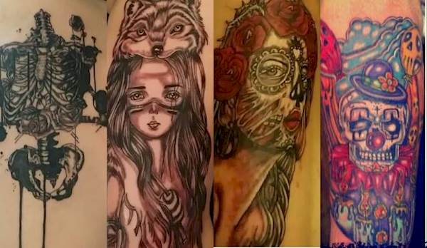Line Art Animals Tattoo : Best tattoo artists in dallas who are insanely talented cw