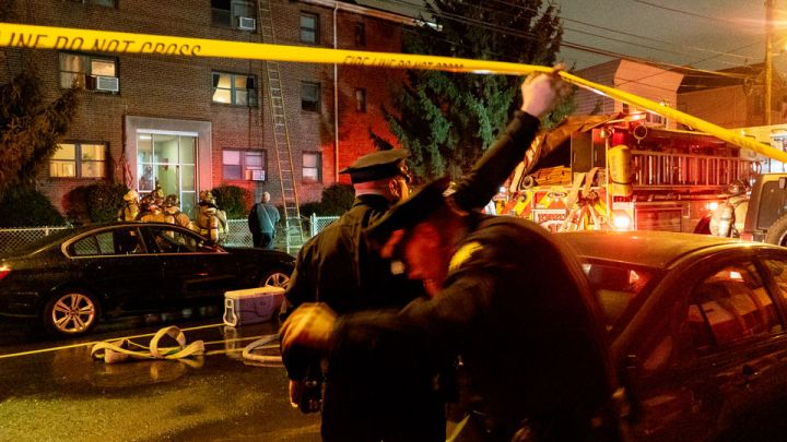 20 people knocked from homes by 3-alarm Jersey City blaze