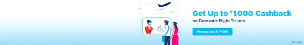 paytm flight ticket offers