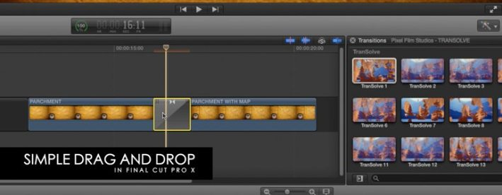 Professional - Dissolve Transition - for Pixel Film Studios