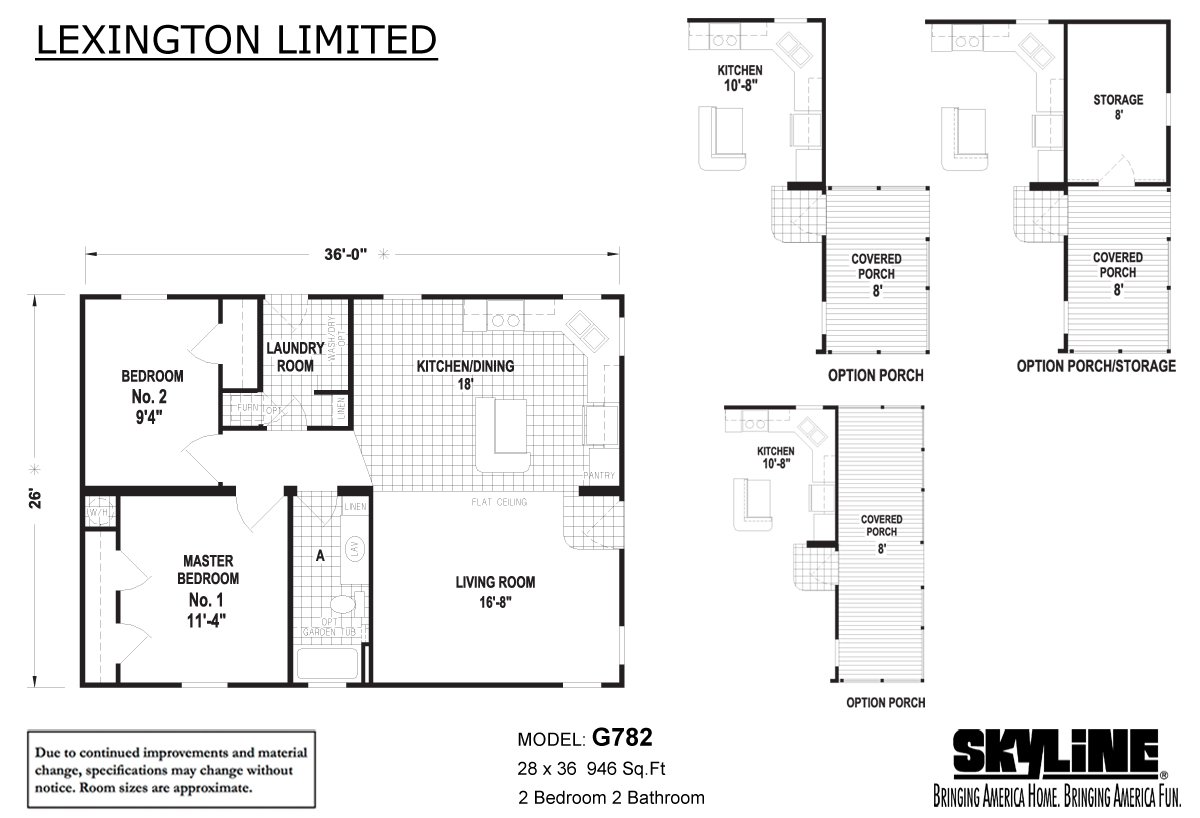 Lexington Limited G782 By Country Lane Homes