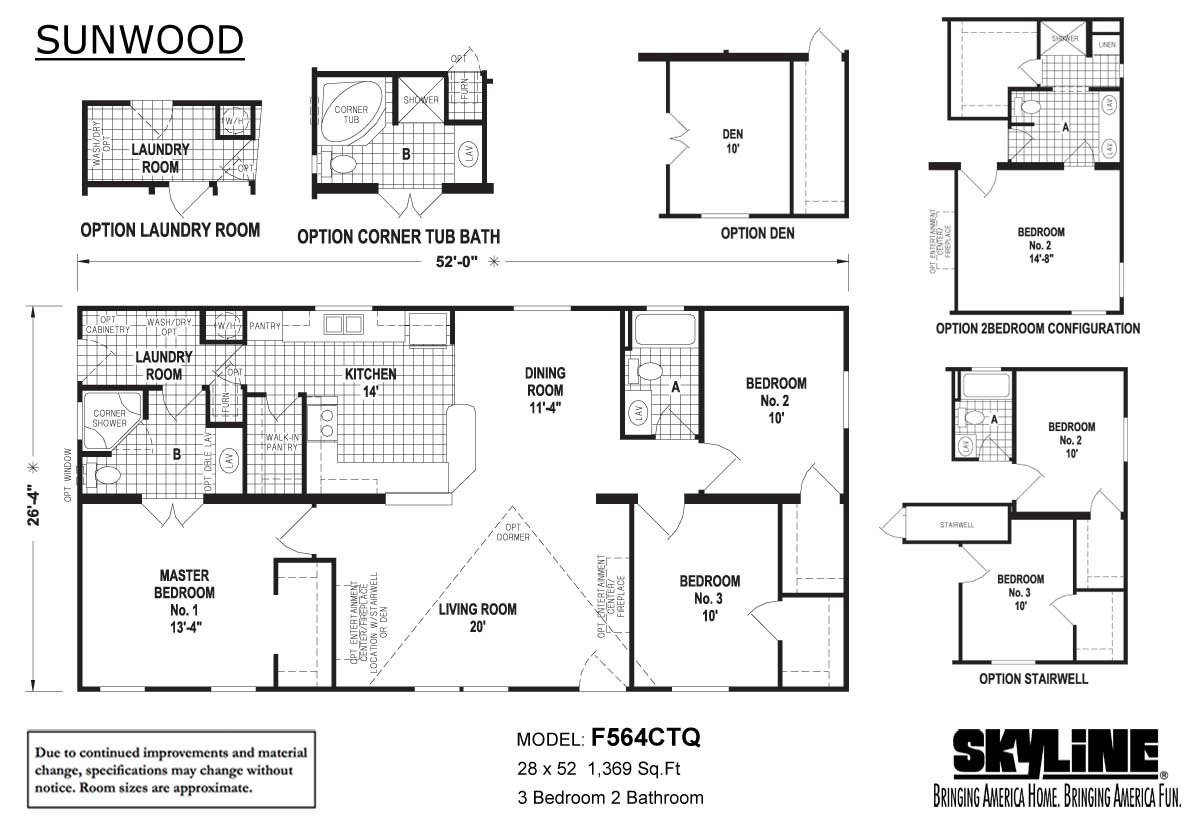 Sunwood F564ctq By Skyline Homes