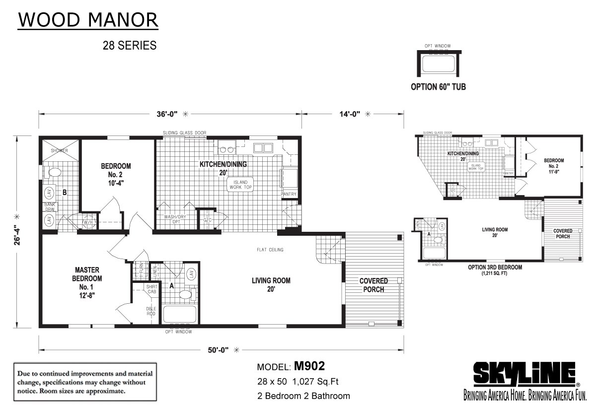 Wood Manor M902 By Factory Expo Home Center