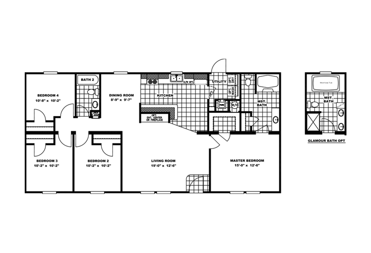 Promotional / Holiday Special 4Bdrm By Clayton Homes