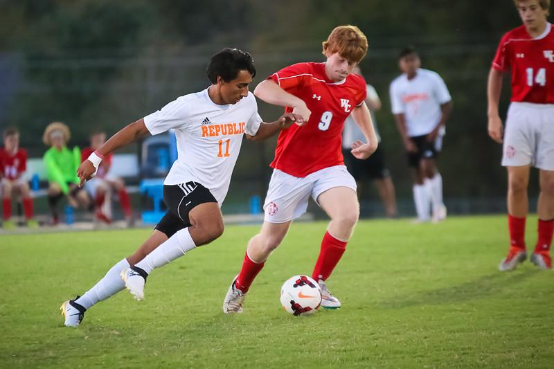 Photos: JV & Varsity Soccer Vs Webb City