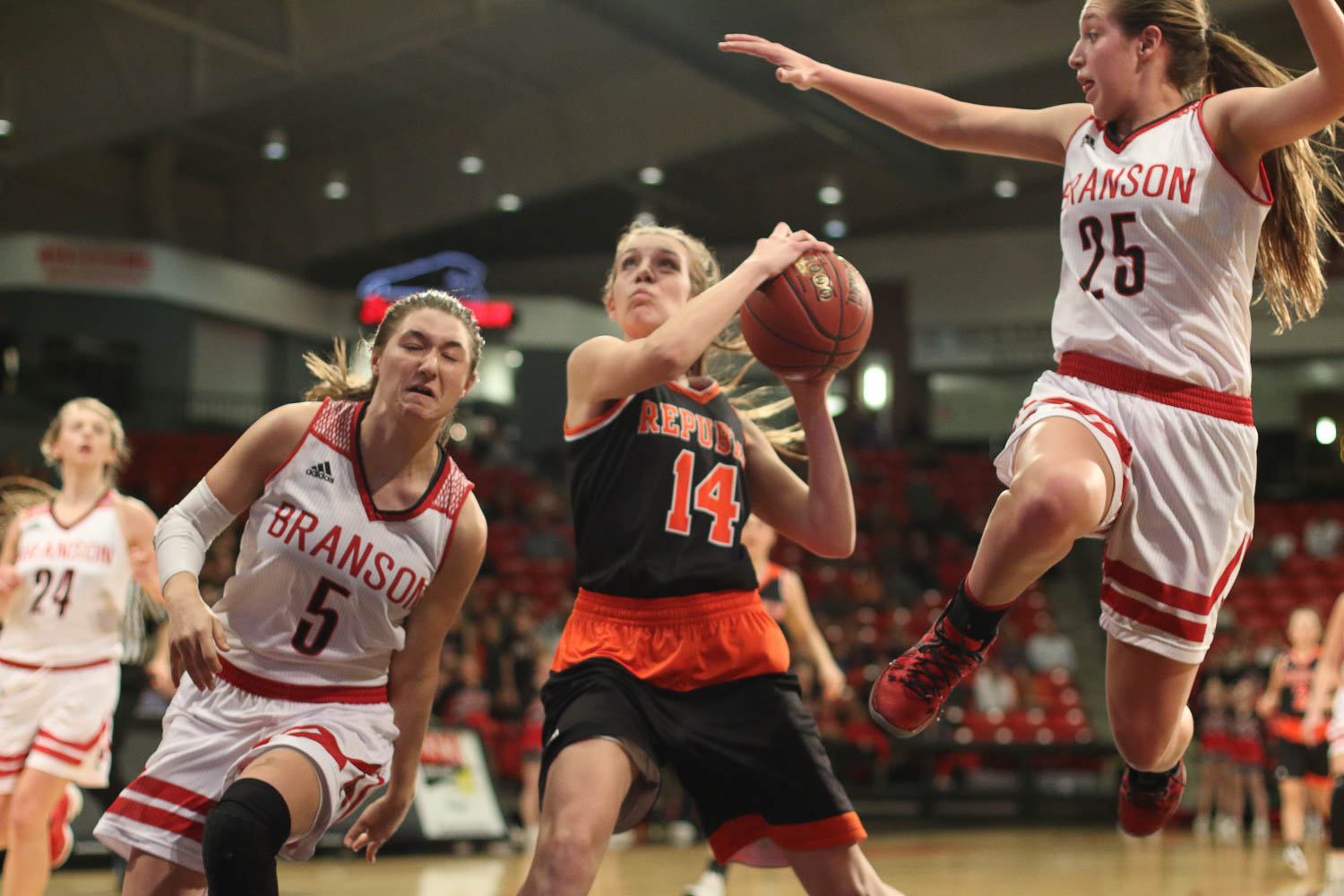 Branson D Befuddles Lady Tigers In Season-Ending Loss