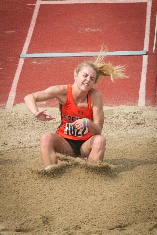 Lauren O'Hara splashdown